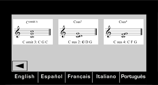 Chords chords and more chords
