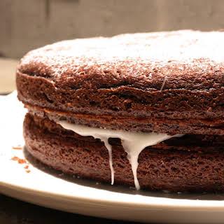 Decadent Red Velvet Cake.