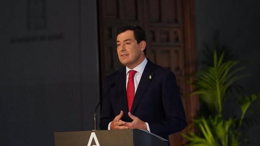 Juanma Moreno anuncia las nuevas medidas en Andalucía.