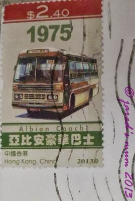 stamps, Hongkong