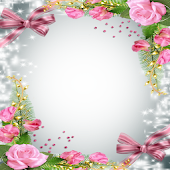 Love Flowers Photo Frames