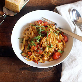 Cherry Roasted Tomato and Balsamic Pasta
