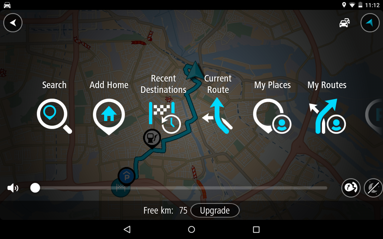 TomTom GPS Navigation Traffic- screenshot