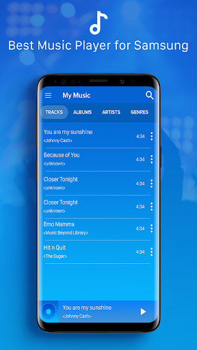 Galaxy Player - Music Player for Galaxy S10 Plus 5.2 screenshots 2