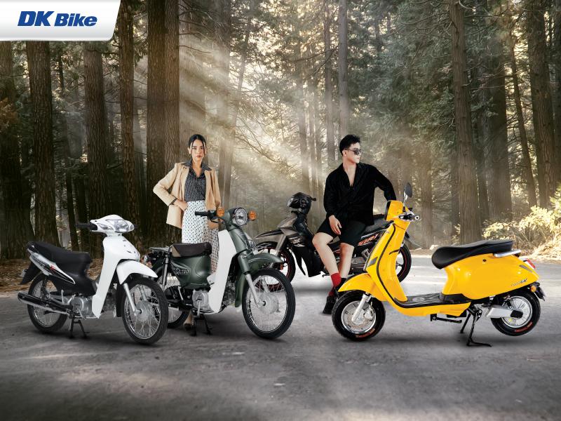 Cac mau xe ga 50cc xe dien phu hop cho hoc sinh - 7