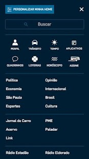 Estadão Mobile- screenshot thumbnail