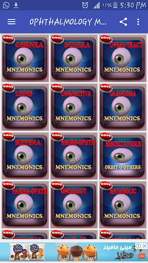 Download Ophthalmology Mnemonics on PC & Mac with AppKiwi
