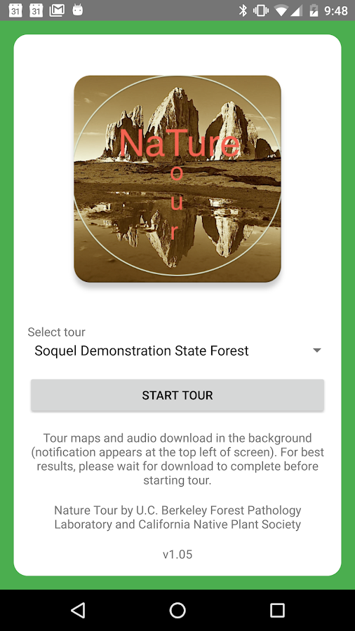 Nature Tour- screenshot