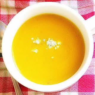 Butternut Squash Apple Soup.