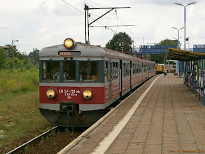 Photo: EN57-712, Łowicz Główny - Łódź Kaliska {Łowicz Główny; 2013-06-24}