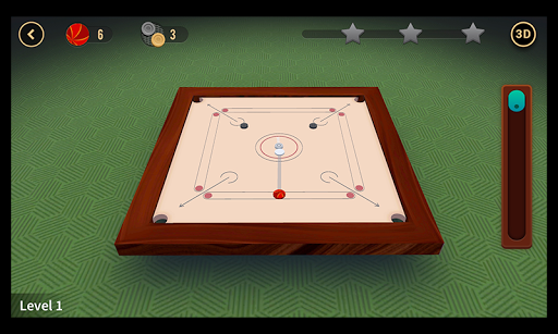 Multiplayer Carrom : 3D  captures d'écran 4