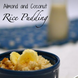 Easy... Gluten Free Almond and Coconut Rice Pudding!!