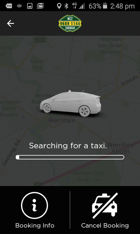 West Suburban Taxi- screenshot
