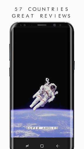 AMOLED 4K PRO Wallpapers (2960x1440) Aplicaciones para Android screenshot