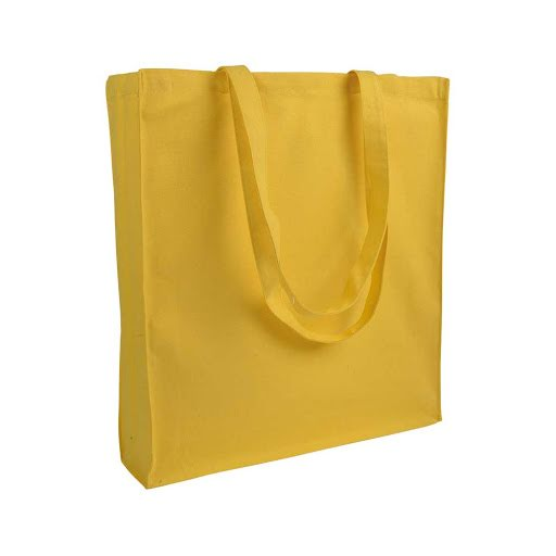 Heavy-Duty Gusseted Tote Bag