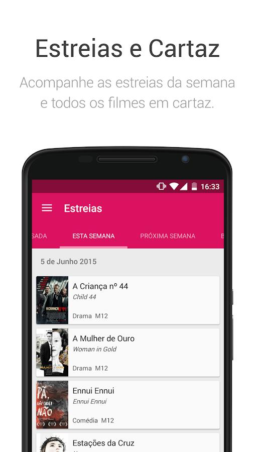 SAPO Cinema - screenshot