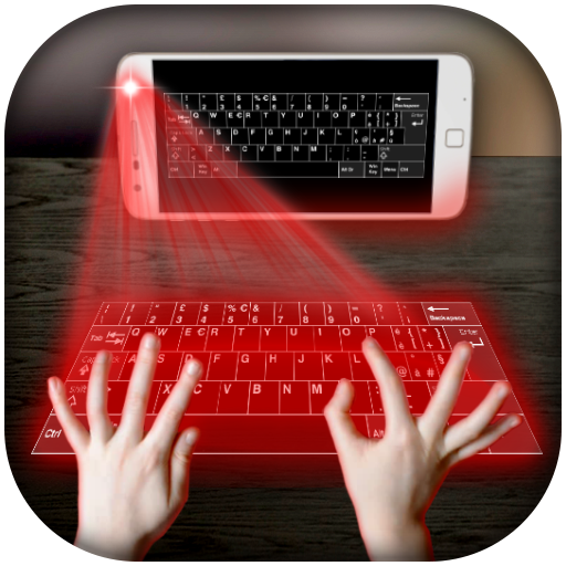Hologram keyboard Simulator
