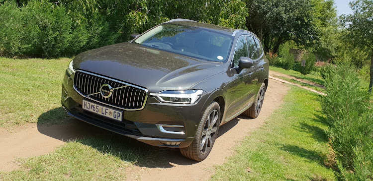 Volvo, famous for its formerly boxy designs, has found its styling mojo and the XC60 radiates smooth aggression. Picture: DENIS DROPPA