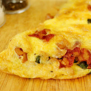 Bacon & Cheese Omelet.