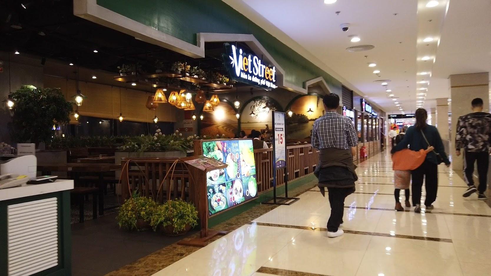 Review khu ăn uống tại Vincom Plaza ở Hải Phòng
