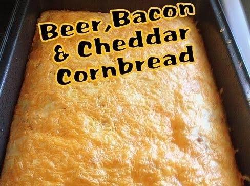 Beer, Bacon & Cheddar Cornbread Recipe