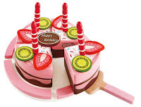 Double Flavored Birthday cake - Hape