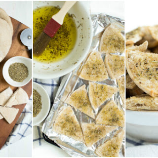 Baked Seasoned Pita Chips