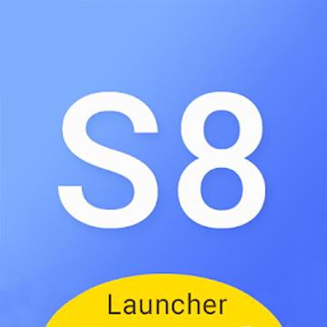 S8 launcher theme &wallpaper