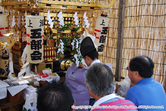 Photo: 【平成19年(2007) 宵々宮】 「御霊入れの儀」が執り行われる。