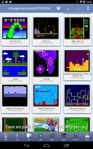 MasterGear - MasterSystem & GameGear Emulator screenshots 20