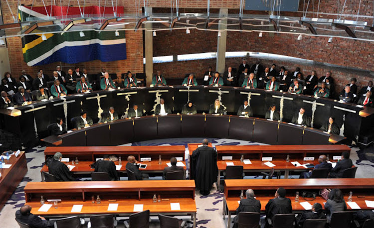 The Constitutional Court in session. Picture: GCIS