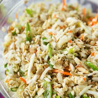 Ridiculously Amazing Asian Ramen Salad.