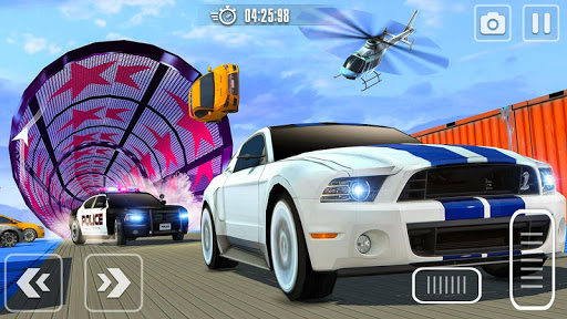 Impossible Race Tracks: Car Stunt Games 3d 2020 apkpoly screenshots 3