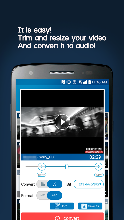 MP3 Video Converter- screenshot