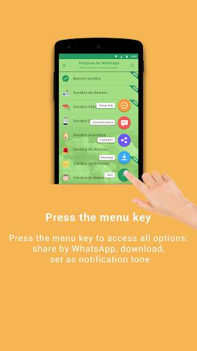 Ringtones for WhatsApp 2.2 screenshots 4