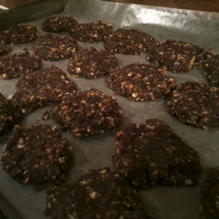 No Bake Chocolate-PB-Flax Seed-Stevia Cookies.