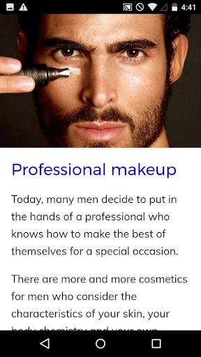 Makeup Course for Men 72.0 Screenshots 3