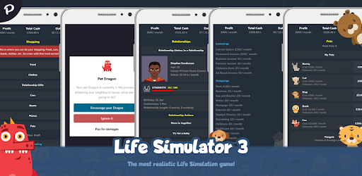 As close to real life as it gets for a Life Simulator game! It's also Idle!