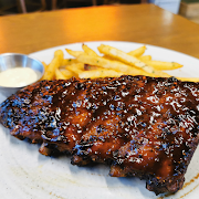 Smoked Baby Ribs with Frites