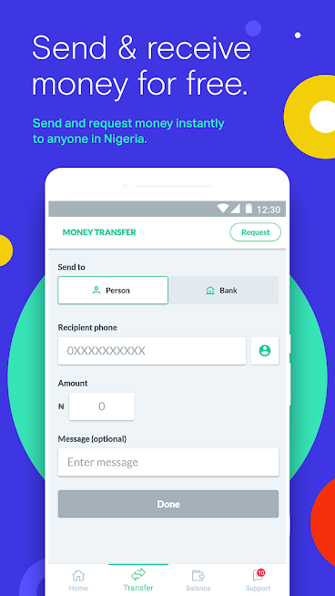 Send & receive money with OPay
