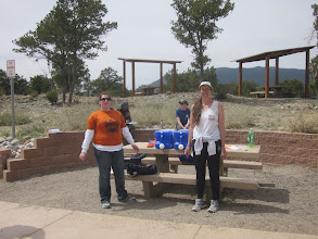 Photo: Coyote aid station