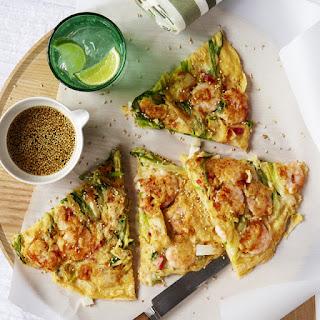 Korean Pancakes with Seafood Recipe