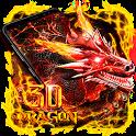 3D Lava Dragon Theme icon