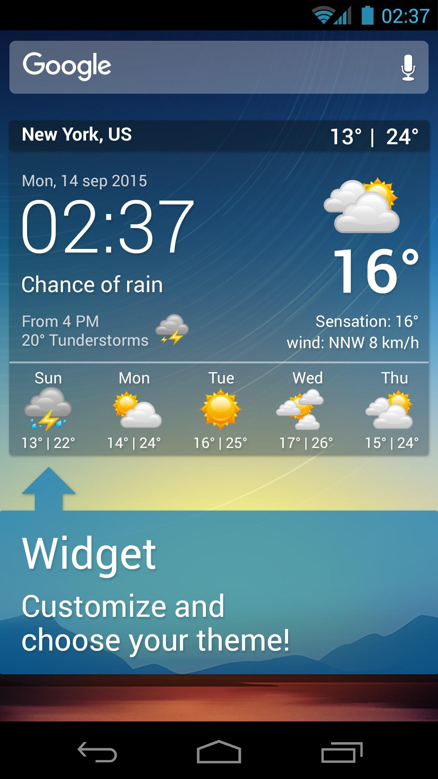 Weather XL PRO screenshot #8