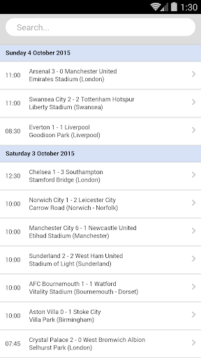 Football Live Scores  2