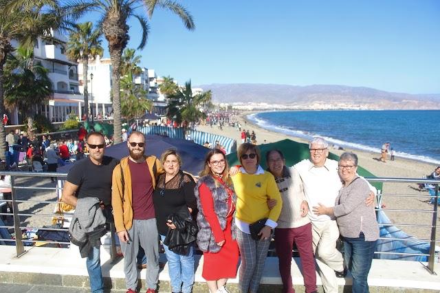 Desde Elda, Alicante, conociendo y disfrutando de la tradición del Puerto de Roquetas.
