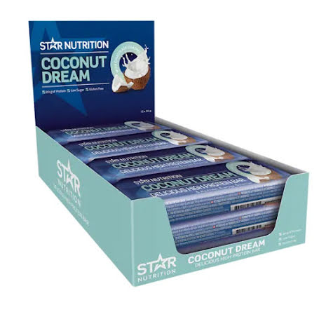 Star Nutrition Protein Bars 12st - Coconut