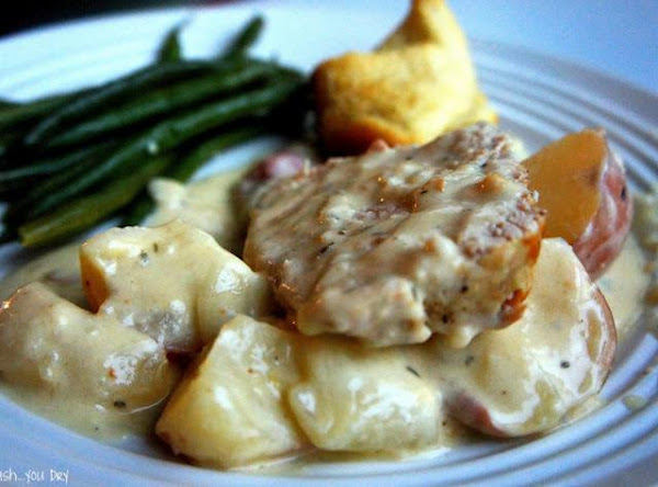 Creamy Garlic Pork Roast Recipe