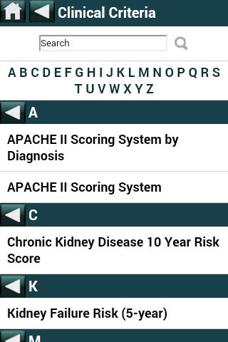 EBMcalc Kidney- screenshot