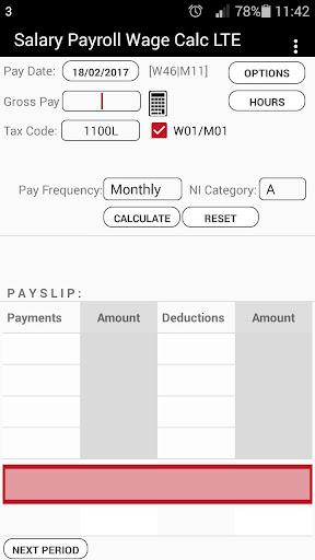 Salary Payroll Calculator by MA Lab Tech (Google Play, United States